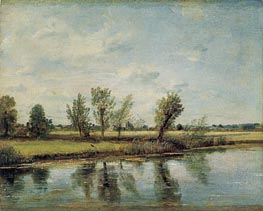 Watermeadows near Salisbury, 1829 von Constable | Gemälde-Reproduktion