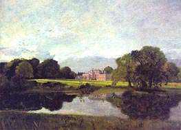 Malvern Hall, Warwickshire | Constable | Painting Reproduction