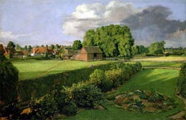 Golding Constable's Flower Garden, 1815 von Constable | Gemälde-Reproduktion