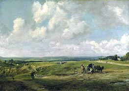 Hamstead Heath, c.1820 von Constable | Gemälde-Reproduktion