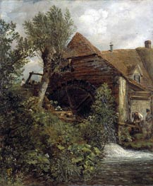 Watermill at Gillingham, Dorset, c.1823/27 von Constable | Gemälde-Reproduktion
