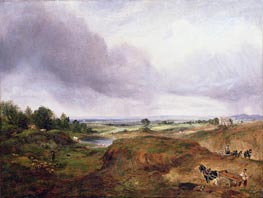 Hampstead Heath, undated von Constable | Gemälde-Reproduktion