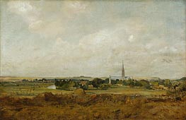 View of Salisbury, undated by Constable | Painting Reproduction