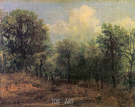A Wood, c.1802 | Constable | Painting Reproduction