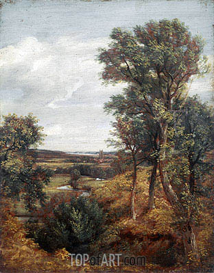 Dedham Vale, 1802 | Constable | Painting Reproduction