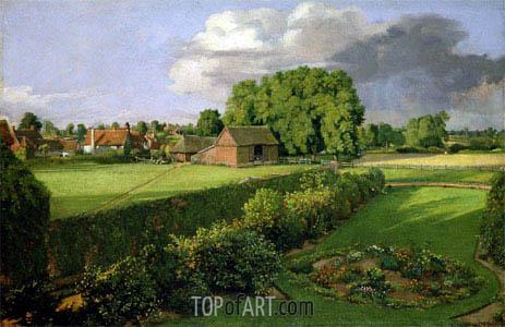 Constable | Golding Constable's Flower Garden, 1815
