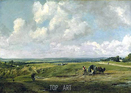 Hamstead Heath, c.1820 | Constable | Gemälde Reproduktion
