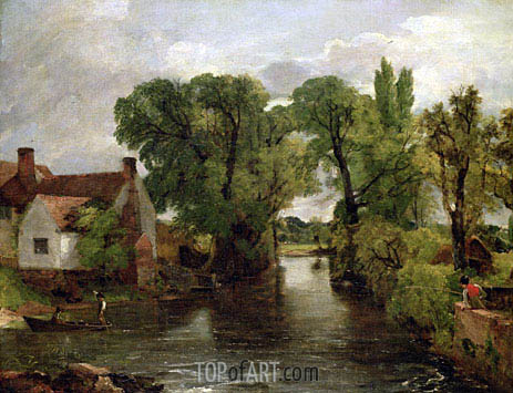 Constable | The Mill Stream, c.1814/15