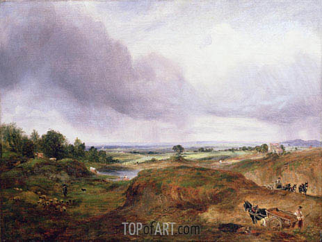 Hampstead Heath, undated | Constable | Painting Reproduction