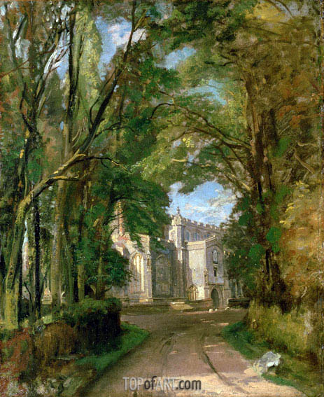 Constable | East Bergholt Church, undated
