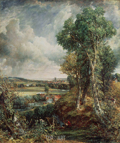 Vale of Dedham, 1828 | Constable | Painting Reproduction