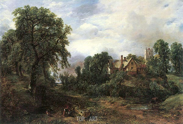 The Glebe Farm, undated | Constable | Painting Reproduction
