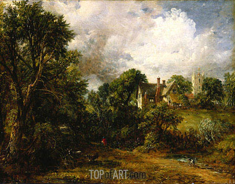 The Glebe Farm, 1827 | Constable | Painting Reproduction