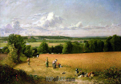 Constable | Wheat Field, 1816