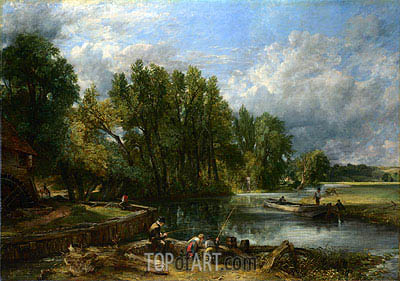 Stratford Mill, 1820 | Constable| Gemälde Reproduktion