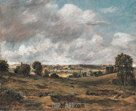 Constable | View of Dedham Vale from East Bergholt, 1815