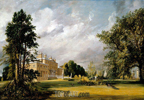 Malvern Hall, 1821 | Constable| Painting Reproduction