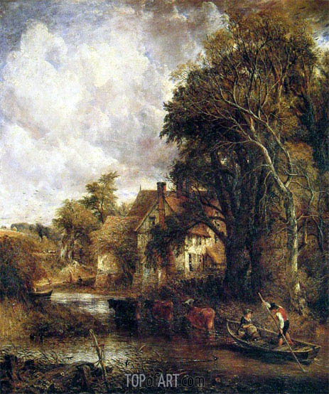 The Valley Farm, 1835 | Constable | Painting Reproduction