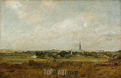 Constable | View of Salisbury, undated