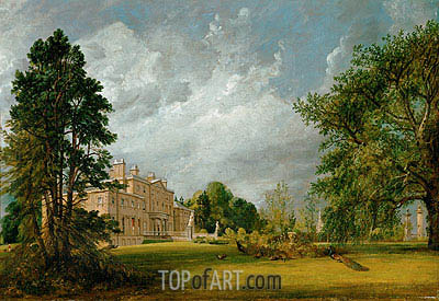 Malvern Hall, 1821 | Constable | Painting Reproduction