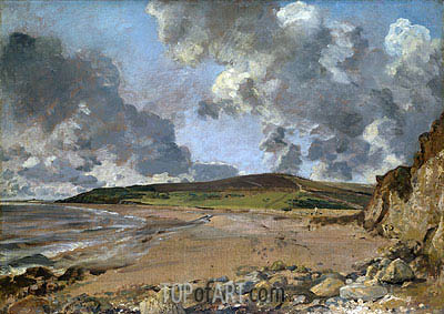 Weymouth Bay - Bowleaze Cove and Jordon Hill, c.1816/17 | Constable| Gemälde Reproduktion