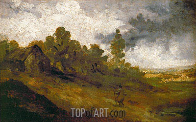 Hampstead Heath, c.1820/22 | Constable| Painting Reproduction