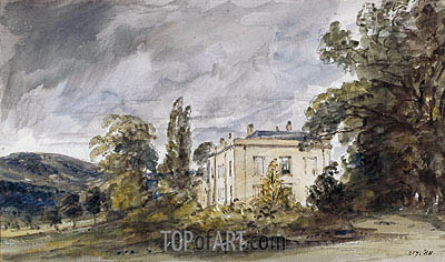 Bignor Park, c.1834 | Constable| Painting Reproduction