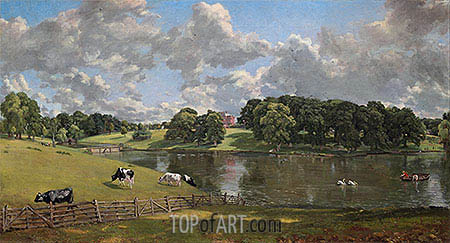 Wivenhoe Park, Essex, 1816 | Constable| Painting Reproduction