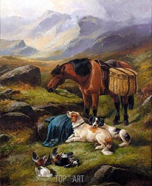After the Shoot, Undated von John Gifford | Gemälde-Reproduktion