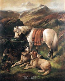 A Well Earned Rest | John Gifford | Painting Reproduction