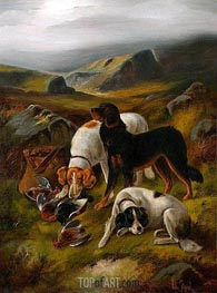 Hunting Scene, Undated by John Gifford | Painting Reproduction