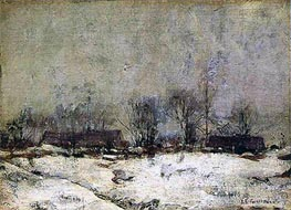 Winter Landscape, Cincinnati | John Henry Twachtman | outdated
