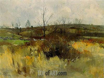 John Henry Twachtman | Landscape, 1889