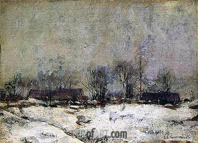 Winter Landscape, Cincinnati, c.1901/02 | John Henry Twachtman | Painting Reproduction