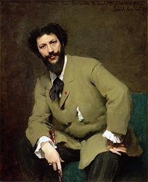 Carolus-Duran, 1879 by Sargent | Painting Reproduction