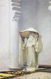 Fumee d'Ambre Gris (Smoke of Ambergris), 1880 by Sargent | Painting Reproduction