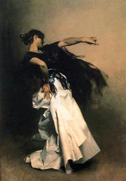 Spanish Dancer, c.1880/81 by Sargent | Painting Reproduction