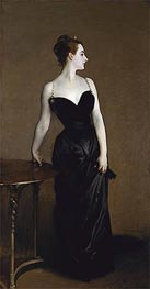 Madame X (Madame Pierre Gautreau), 1884 by Sargent | Painting Reproduction