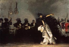El Jaleo, 1882 by Sargent | Painting Reproduction