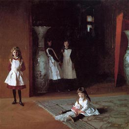 The Daughters of Edward Darley Boit, 1882 by Sargent | Painting Reproduction