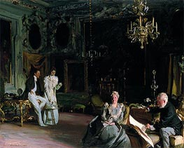 An Interior in Venice, 1899 by Sargent | Painting Reproduction
