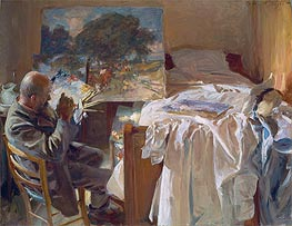 An Artist in his Studio | Sargent | Painting Reproduction
