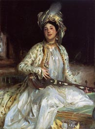 Almina, Daughter of Asher Wertheimer, 1908 by Sargent | Painting Reproduction