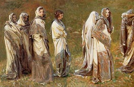 Cashmere, c.1908 by Sargent | Painting Reproduction