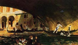 The Rialto, 1911 by Sargent | Painting Reproduction