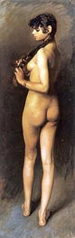 Nude Egyptian Girl, 1891 by Sargent | Painting Reproduction