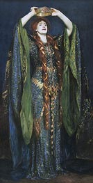 Miss Ellen Terry as Lady Macbeth, 1889 by Sargent | Painting Reproduction