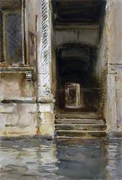 Venetian Passageway, c.1905 by Sargent | Painting Reproduction