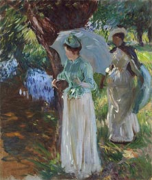 Two Girls with Parasols | Sargent | veraltet