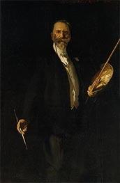 Portrait of William Merritt Chase, 1902 von Sargent | Gemälde-Reproduktion